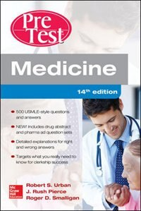 Book Medicine PreTest Self-Assessment and Review, Fourteenth Edition by Robert Urban