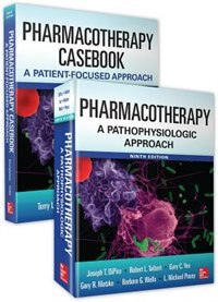 Book Pharmacotherapy 9E Bundle: Pharmacotherapy Casebook and Textbook by Joseph T. Dipiro