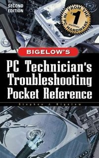 Book PC Technician's Troubleshooting Pocket Reference by Stephen Bigelow