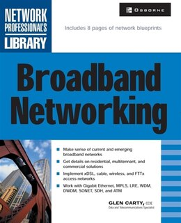 Book Broadband Networking: A Beginner's Guide by Glen Carty