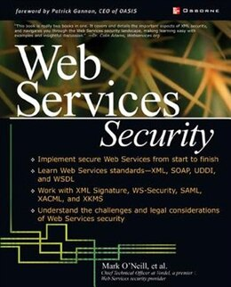 Book Web Services Security by Mark O'Neill