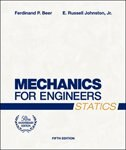 Mechanics for Engineers, Statics by Ferdinand P. Beer