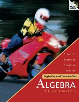 Book SMART CD-ROM to accompany Beginning and Intermediate Algebra by James Streeter