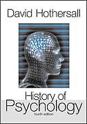 Book History of Psychology by David Hothersall