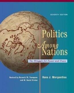 Book Politics Among Nations by Hans Morgenthau