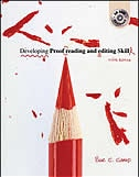 Book Developing Proofreading and Editing Skills w/ Student CD-ROM Package: With Student CD-Rom by Sue C Camp