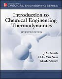 Book Introduction to Chemical Engineering Thermodynamics by J.M. Smith