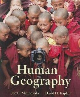 Book Human Geography by Jon Malinowski