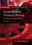 Book Pocket Book of Technical Writing for Engineers & Scientists by Leo Finkelstein