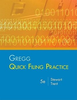 Book Gregg Quick Filing Practice Kit by Jeffrey Stewart