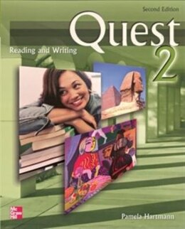 Book Quest 2 Reading and Writing Student Book: 2nd Edition by Pamela Hartmann