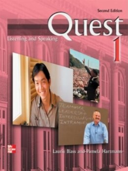 Book Quest 1 Listening and Speaking Student Book w/ Audio Highlights: 2nd edition by Laurie Blass