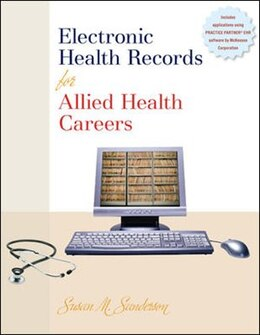 Book Electronic Health Records for Allied Health Careers w/Student CD-ROM by Susan Sanderson