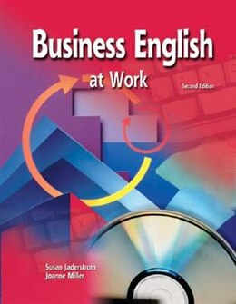 Book Business English At Work Student Text/Premium OLC Content Package by Susan Jaderstrom