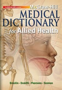Book McGraw-Hill Medical Dictionary for Allied Health w/ Student CD-ROM by Myrna Breskin