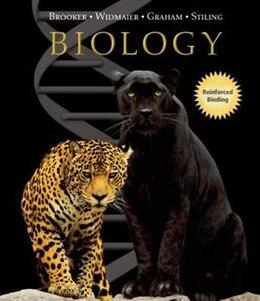 Book Biology by Robert Brooker (NASTA Hardcover Reinforced High School Binding) Student Edition by Robert Brooker