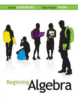 Book Student Solutions Manual for Beginning Algebra by Andrea Hendricks