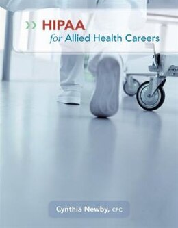 Book HIPAA for Allied Health Careers by Cynthia Newby