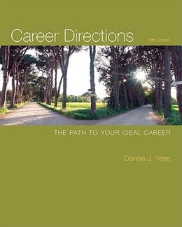 Book Career Directions: The Path to Your Ideal Career: The Path to Your Ideal Career by Donna Yena