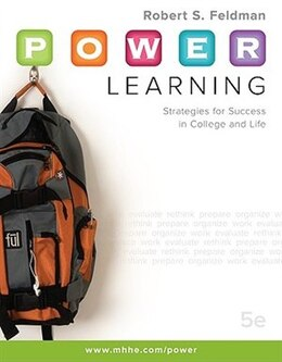 Book P.O.W.E.R. Learning: Strategies for Success in College and Life: Strategies for Success in College… by Robert Feldman