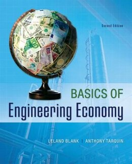 Book Basics of Engineering Economy by Leland Blank