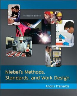 Book Niebel's Methods, Standards, & Work Design by Andris Freivalds
