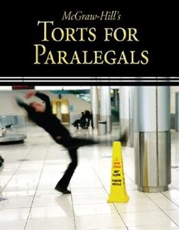 Book McGraw-Hill's Torts for Paralegals by Higher Education McGraw-Hill Education