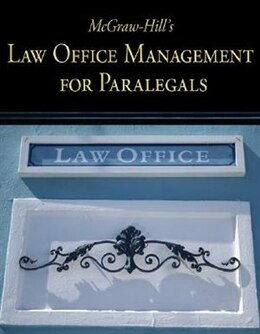 Book McGraw-Hill's Law Office Management for Paralegals by Higher Education McGraw-Hill Education