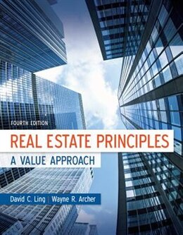 Book Real Estate Principles: A Value Approach by David Ling