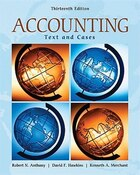 Accounting: Texts and Cases: Texts and Cases