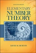 Book Elementary Number Theory by David Burton