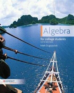 Book Algebra for College Students by Mark Dugopolski
