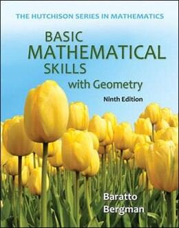 Book Basic Mathematical Skills with Geometry by Stefan Baratto