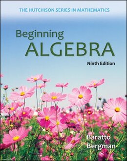 Book Beginning Algebra by Stefan Baratto