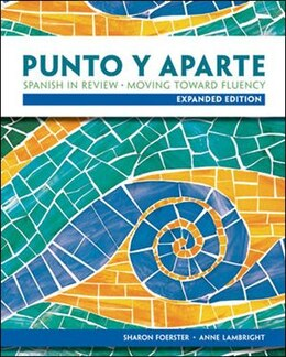 Book Punto y aparte: Expanded Edition: Expanded Edition by Sharon Foerster