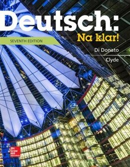 Book Deutsch: Na klar! An Introductory German Course (Student Edition) by Robert Di Donato