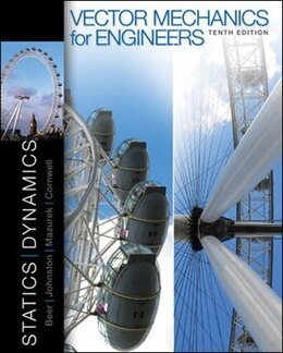 Book Vector Mechanics for Engineers: Statics and Dynamics by Ferdinand Beer