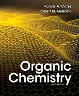 Book Organic Chemistry by Francis Carey