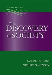 Book The Discovery of Society by Randall Collins