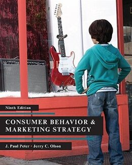 Book Consumer Behavior by J. Paul Peter