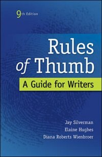 Book Rules of Thumb by Jay Silverman