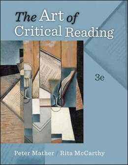 Book The Art of Critical Reading by Peter Mather