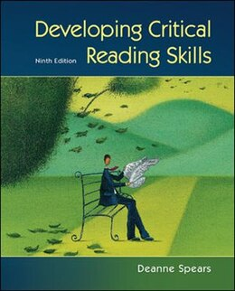 Book Developing Critical Reading Skills by Deanne Spears
