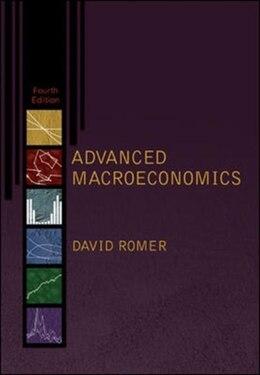 Book Advanced Macroeconomics by David Romer