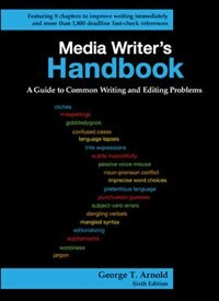 Book Media Writer's Handbook: A Guide to Common Writing and Editing Problems by George Arnold