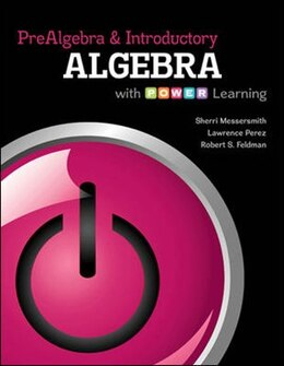 Book Prealgebra and Introductory Algebra with P.O.W.E.R. Learning by Sherri Messersmith