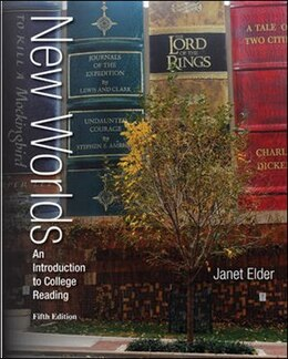 Book New Worlds: An Introduction to College Reading by Janet Elder