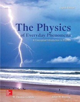 Book Physics of Everyday Phenomena by W. Thomas Griffith