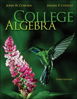 Book College Algebra by John Coburn