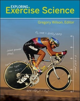 Book Exploring Exercise Science by Gregory Wilson